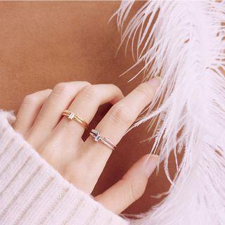Rhinestone | Sterling | Silver | Ring