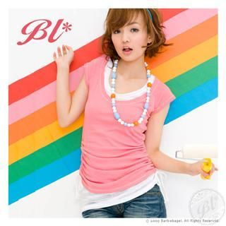 Picture of Barbie Baigel Crewneck Tee 1022545620 (Barbie Baigel Tees, Womens Tees, China Tees, Crew Neck Shirts)