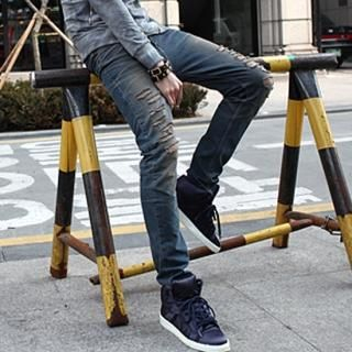 Buy Groove9 Distressed Jeans 1022462045