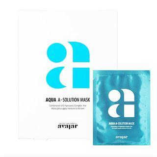 Image of avajar - A-Solution Mask Set - 4 Types Aqua