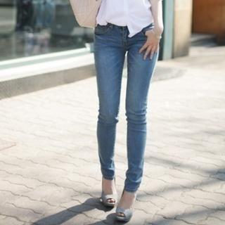 Buy VIVIDRESS Washed Skinny Jeans 1022498930