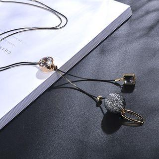 Rhinestone | Necklace | Pendant