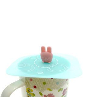 Silicone Rabbit Cup Lid One Size - United states