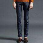 Check Straight-Leg Pants 1596
