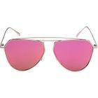 Double Bar Color Lens Sunglasses 1596