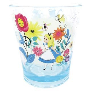 Alice in Wonderland Plastic Clear Cup (Flower) 1060022458
