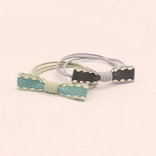 Image of Bow Layered Hair Tie