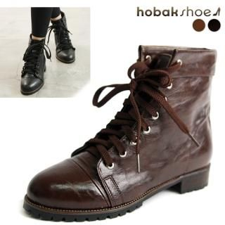 Picture of HOBAK girls Lace-Up Boots 1023038633 (Boots, HOBAK girls Shoes, Korea Shoes, Womens Shoes, Womens Boots)