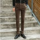 Straight Leg Corduroy Pants 1596