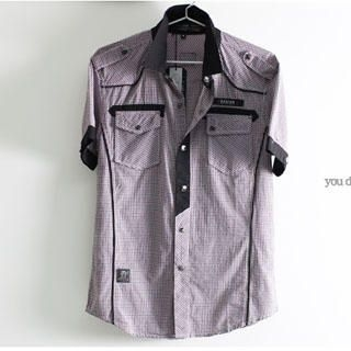 Picture of SERUSH Check Shirt 1022556306 (SERUSH, Mens Tees, Taiwan)