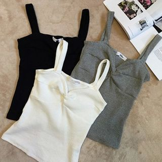Ribbed Knit Tank Top 1051631115