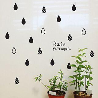 Sticker   Rain   Wall