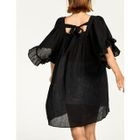 Square-Neck Frilled-Trim Dress 1596