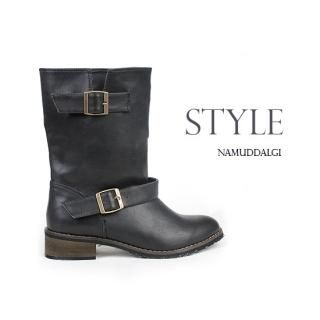 Buy NamuDDalgi Buckled Boots 1021480810
