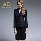 Stitched Blazer / Pencil Skirt / Trousers 1596