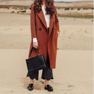 Image of Wool Long Coat
