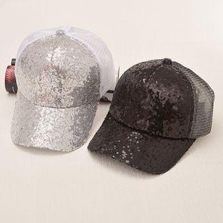 Sequined Cap 1060853044