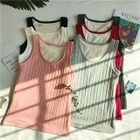 Fleece-Lined Tank Top / Camisole 1596