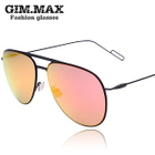 Double Bridge Aviator Sunglasses 1596