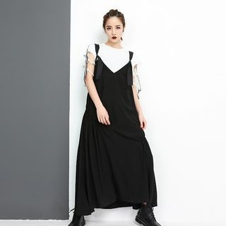 Midi Pinafore Dress 1066014600