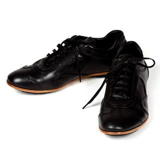 Buy Purplow Handmade Wing Tip Sneakers Black 1004910108