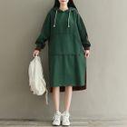 Hooded Midi Dress 1596