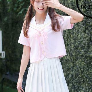 Long-sleeve | Cardigan | Collar | Skirt | Short | Mini | Set | Top