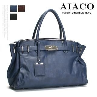 Picture of AIACO Faux-Leather Tote 1021617841 (AIACO, Tote Bags, Korea Bags, Womens Bags, Womens Tote Bags)