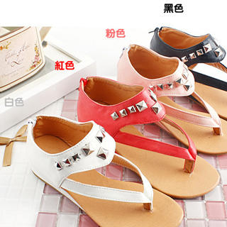 Picture of KAWO Studded Thong Sandals 1022769631 (Sandals, KAWO Shoes, China Shoes, Womens Shoes, Womens Sandals)