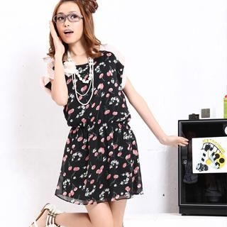 Picture of 19th Street Cherry Print Chiffon Dress 1022589951 (19th Street Dresses, Womens Dresses, China Dresses, Chiffon Dresses)