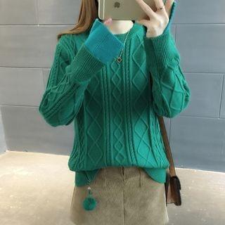 Rib Knit Sweater 1063911928