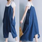 Midi Pinafore Dress 1596