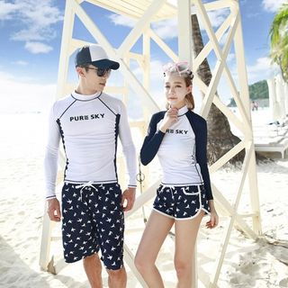 printed-couple-swimsuit