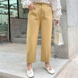 Image of Button Harem Pants