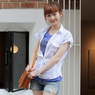 Buy CLICK Roll-Up Sleeve Shirt 1022748730