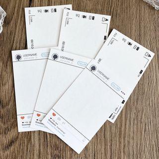 Image of Apps Print Postcard