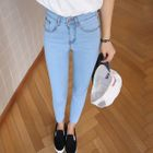 Cropped Skinny Jeans 1596