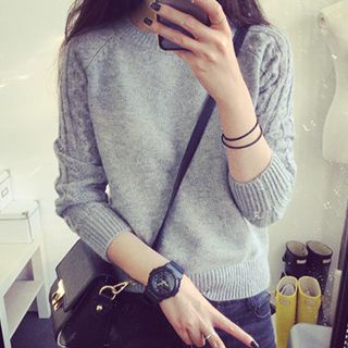 Cable-Knit Sweater 1046532543