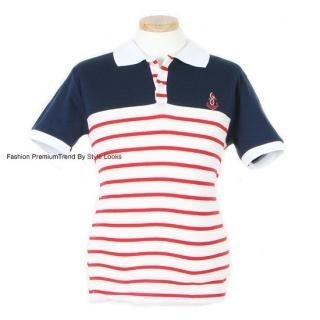 Buy Yellow Jacket Color-Block Striped Polo Shirt 1022555518