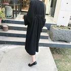 Maternity Dolman-Sleeve Maxi Dress 1596
