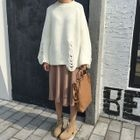 Rib Knit Skirt 1596
