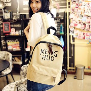 Embroider | Backpack | Canvas