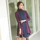 Open-Front A-Line Cardigan 1596