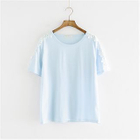 Short-Sleeve Lace-Trim T-Shirt от YesStyle.com INT