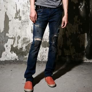 Buy moscod Distressed Slim-Fit Jeans 1022971002