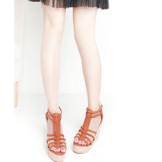 Buy KAWO Braided-Strap Wedges 1023003555