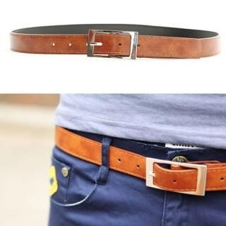Buy Portfranc Faux-Leather Belt 1022943124