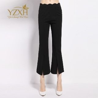 Cropped Boot-Cut Pants 1058516320