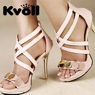 Picture of Kvoll Cross Strap Sandals 1023009416 (Sandals, Kvoll Shoes, China Shoes, Womens Shoes, Womens Sandals)