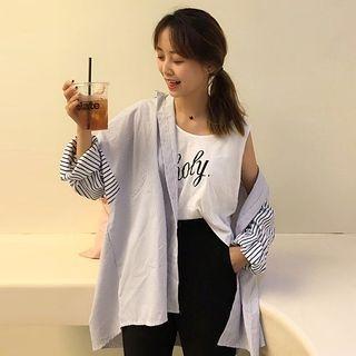 Striped Long Shirt 1065082190